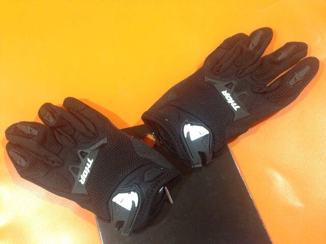 мотоперчатки детские Thor Spectrum, чёрные, XXS