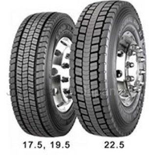 Всесезонные шины Goodyear Regional rhd ii 315/70r22.5 154/150l 315/70 225 дюймов новые в Москве