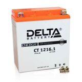 Аккумулятор СТ1216.1 МТ12-16 YTX16-BS 16 а/ч 151х88х164 св кисл герм Delta    купить по цене 5800 р.