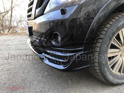 Накладка на бампер на Nissan Patrol во Владивостоке