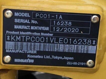 Экскаватор мини KOMATSU PC01-01 2020 года во Владивостоке