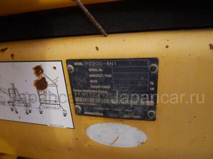 Экскаватор KOMATSU PC200-8N1 2008 года во Владивостоке