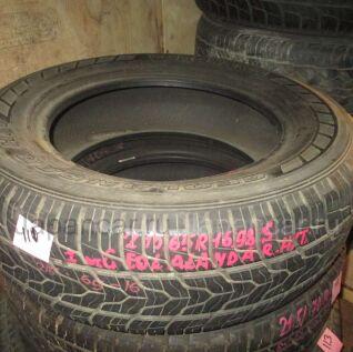 Всесезонные шины Yokohama Geolandar 215/65 16 дюймов б/у в Новосибирске