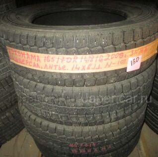 Зимние шины Yokohama K2 165/70 14 дюймов б/у в Новосибирске