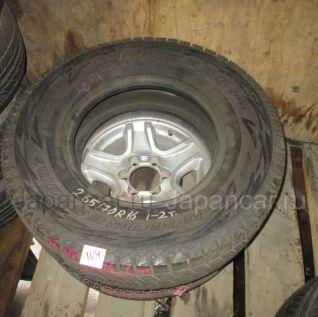 Всесезонные шины Bridgestone 265/70 16 дюймов б/у в Новосибирске