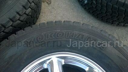 Зимние шины Yokohama geolandar go72 265/70 16 дюймов б/у в Челябинске