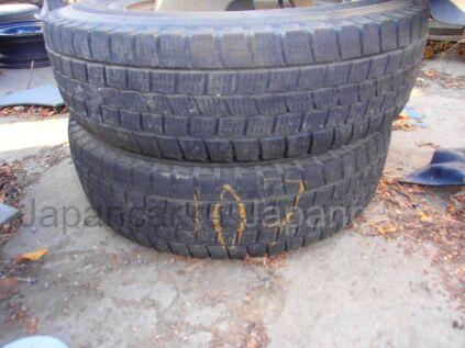 Зимние шины Dunlop - 185/70 14 дюймов б/у в Хабаровске