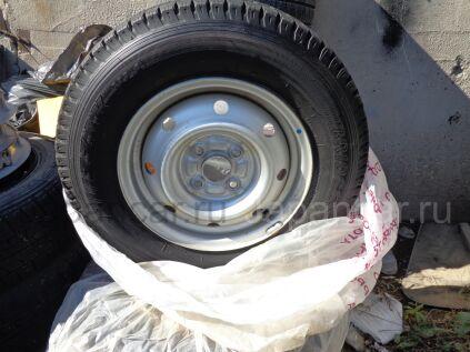 Всесезонные колеса Япония Бриджик 165/80 13 дюймов б/у во Владивостоке