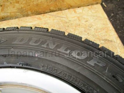 Всесезонные шины Dunlop 195/65 15 дюймов б/у в Москве