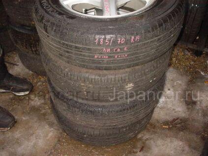 Летниe колеса Yokohama 185/70 14 дюймов б/у в Уссурийске