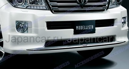 Передняя губа на Toyota Land Cruiser 200 во Владивостоке