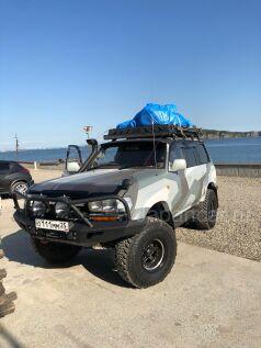 Багажник на Toyota Land Cruiser Prado во Владивостоке
