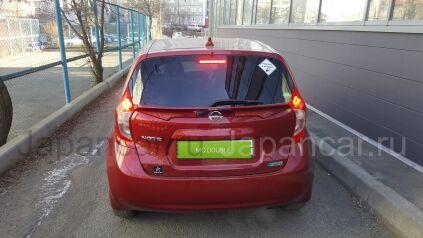 Накладки кузова на Nissan Note во Владивостоке