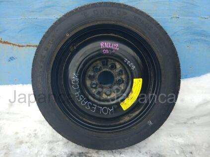 Всесезонные колеса Dunlop 135/90 16 дюймов Nissan вылет 40 мм. б/у в Новосибирске