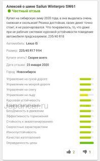 Зимние шины 185/65r15 sailun Winterpro sw61 185/65 15 дюймов новые в Новосибирске