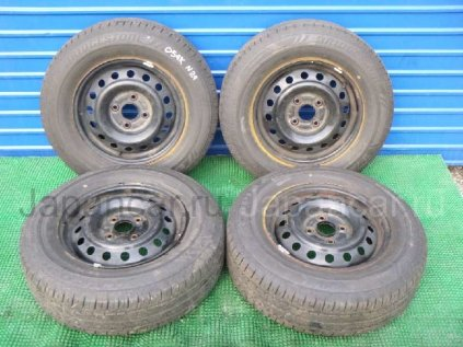 Летниe шины Bridgestone Ecopia nh100rv 205/70 15 дюймов б/у во Владивостоке