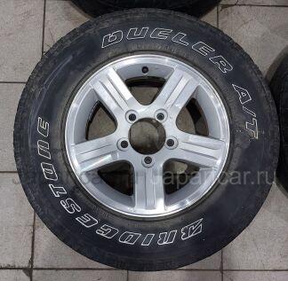 Летниe колеса Bridgestone Dueler 225/75 16 дюймов Suzuki ширина 5.5 дюймов вылет 22 мм. б/у в Комсомольске-на-Амуре