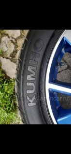 Летниe колеса Kumho 215/50 17 дюймов Nissan ширина 6.5 дюймов вылет 45 мм. б/у во Владивостоке