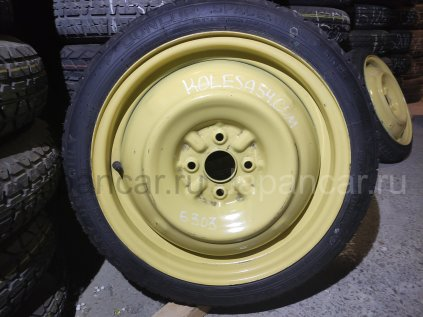 Всесезонные колеса Dunlop 135/70 16 дюймов Toyota б/у в Новосибирске