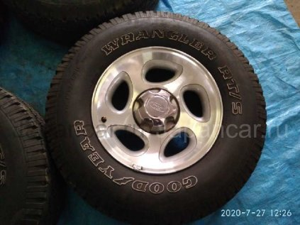 Летниe колеса Goodyear Wrangler rt/s 255/70 16 дюймов Ford б/у в Барнауле