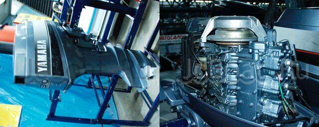 мотор подвесной YAMAHA 1992 года