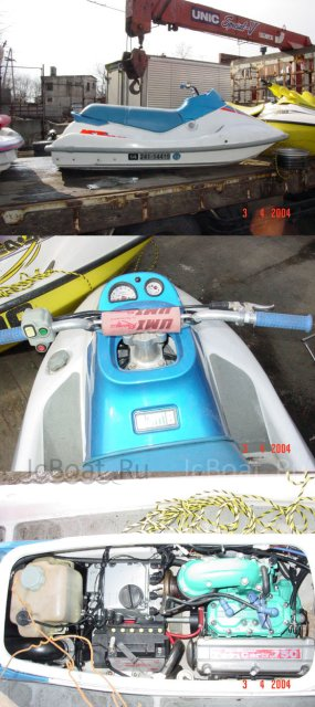 водный мотоцикл KAWASAKI XI 1995 года