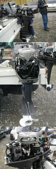 мотор подвесной TOHATSU 2002 года