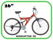 велосипед ALPHA MANHATTAN DX 26