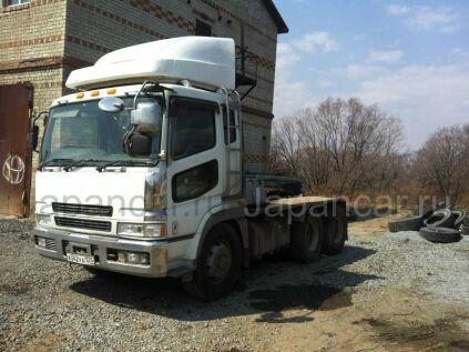 Седельный тягач MITSUBISHI FUSO SUPER GREAT 2001 года во Владивостоке