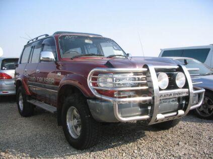 Toyota Land Cruiser 1997 года в Уссурийске