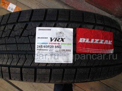 Зимние шины Bridgestone Blizzak vrx 245/40 20 дюймов новые во Владивостоке