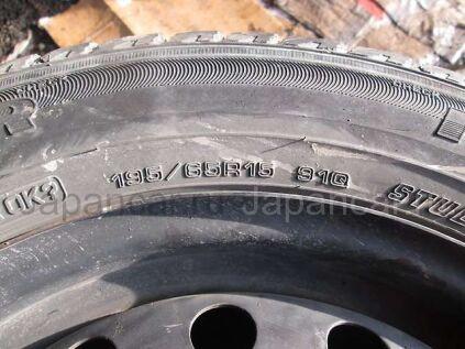 Зимние колеса Goodyear Ice navi zea 195/65 12 дюймов б/у во Владивостоке