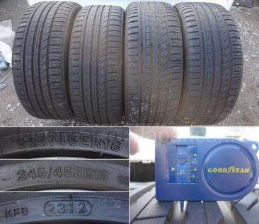 Летниe колеса Bridgestone Potenza re050a 245/40 18 дюймов Amg a219 cls б/у во Владивостоке