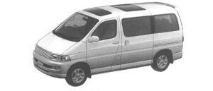 """Toyota Regius 2WD 3.0 DIESEL TURBO G """"EX PACKAGE"""" 1998 г."""