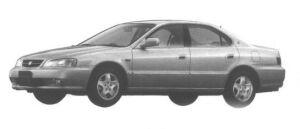 Honda Inspire 25V NAVI 1998 г.