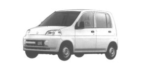 Honda Life B TYPE 4WD 1998 г.