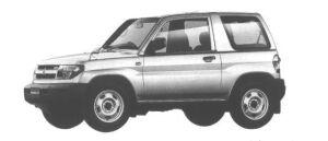 Mitsubishi Pajero IO ZX 1998 г.