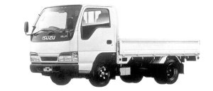 Isuzu Elf 2T FULL FLAT LOW STANDARD BODY 1998 г.