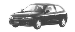 Mitsubishi Mirage 3DOOR J 1998 г.