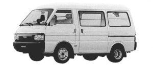 Mazda Bongo VAN WIDE&LOW 2WD HIGH ROOF 2.2 DIESEL DX 1998 г.