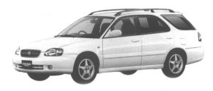 Suzuki Cultus Wagon 1800TZ 1998 г.