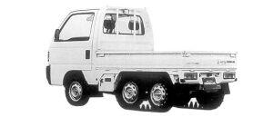 Honda Acty Truck CRAWLER 1998 г.