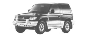 Mitsubishi Pajero METAL TOP ROOKIE 1998 г.