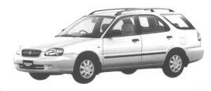 Suzuki Cultus Wagon 1500TS 1998 г.