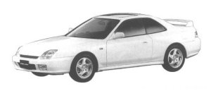 Honda Prelude Si-R S-SPEC 1998 г.