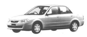 Mazda Familia SEDAN GS 1998 г.