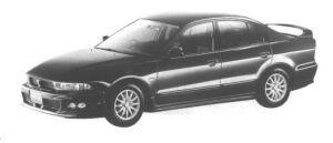 Mitsubishi Galant VIENTO 1998 г.