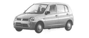 Mitsubishi Minica 5DOOR Pg 1998 г.