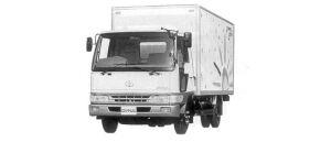 Toyota Dyna ALUMINUM VAN S 3.0T 1998 г.