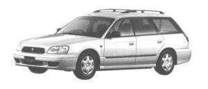 Subaru Legacy TOURING TX 1998 г.
